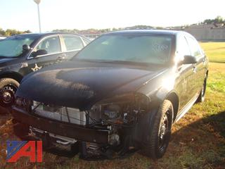 (#1690) 2014 Chevy Impala Limited 4 Door/Police Vehicle
