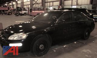 (#1695) 2014 Chevy Impala Limited 4 Door/Police Vehicle