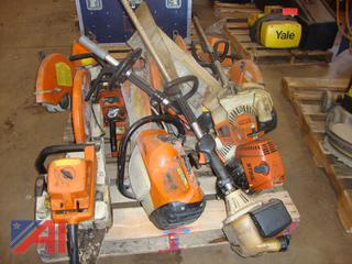 (#1704) Stihl Weed Trimmers, Saws and More