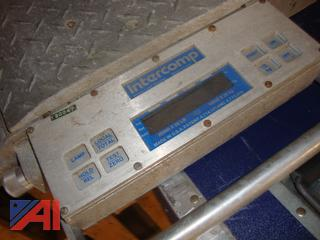 (#1706) Intercomp Wheel Load Weigher with Scales and Transport/Storage Case