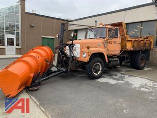 1979 Ford 8000 Dump Truck w/ Plow & Wing