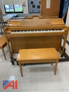 Baldwin Piano with Bench