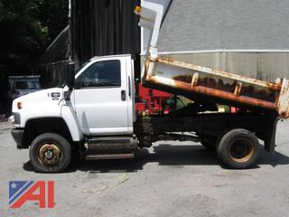 2008 GMC Topkick 5500 Dump Truck with Sander