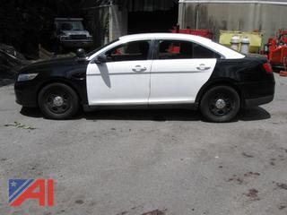 2014 Ford Taurus 4 Door/Police Vehicle