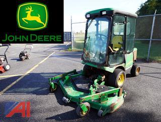 John Deere 1445 Tractor Mower & Broom Attachment