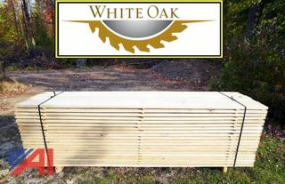 320BF Quarter Sawn White Oak Lumber