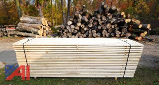Banded Lift of 320BF Variety Pack Lumber with (80) Boards