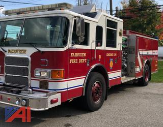 2002 Pierce Enforcer Fire Engine