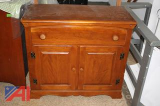 China Cabinet, Table Lamp and More
