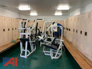 Large Collection of Miscellaneous Weight Room Equipment