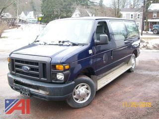 (OFA412) 2010 Ford E350 XL Super Duty Van