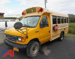 (#99) 2007 Ford E350 Super Duty Mini School Bus