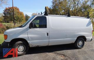 (B-20) 2003 Ford E150 Cargo Van
