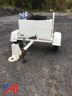 100 Gallon Fuel Cell on Trailer