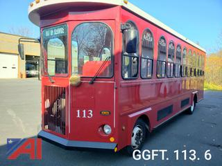 (#113) 2010 Freightliner MT55 Trolley Bus with Wheelchair Lift