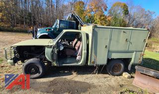 (#1) 1985 Chevy D30 Military Truck
