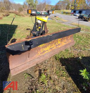 (#3) 9' Fisher Minute Mount Plow