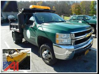 2008 Chevy Silverado 3500HD Pickup Truck with Dump Body