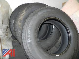 Michelin LT245/75R17 Tires- Like New