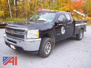 2011 Chevy 3500HD Utility Truck