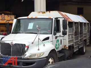 (#1) 2008 International 4300 LP Recycling Truck
