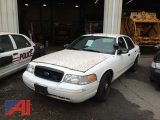 (#10) 2008 Ford Crown Victoria 4 Door/Police Interceptor