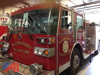 (#11) 1987 Sutphen Pumper Fire Truck
