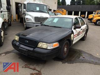 (#14) 2003 Ford Crown Victoria 4 Door/Police Interceptor