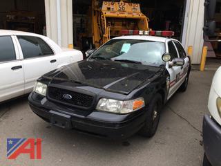 (#15) 2009 Ford Crown Victoria 4 Door/Police Interceptor