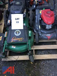 (#19) Billy Goat Industries Contour Mower and Honda HRX 217 Push Mower