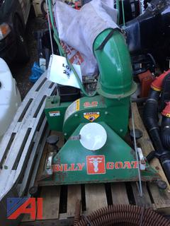 (#22) Billy Goat Leaf Vac with Bag and Pickup Truck Loading Ramps