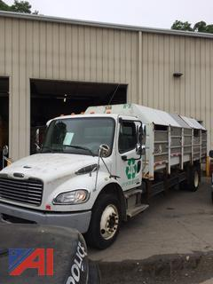 (#2) 2009 Freightliner M2 Medium Duty Recycling Truck