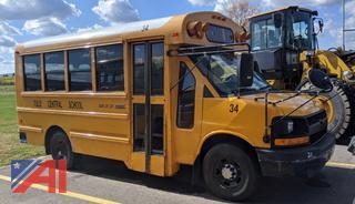 2011 Cheyv/Thomas Express G3500 Mini School Bus