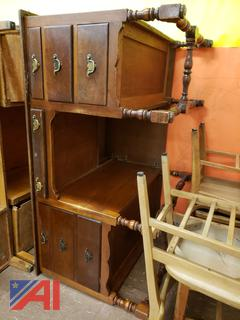 (#12) Vintage Desk, Tables, Cabinets and More