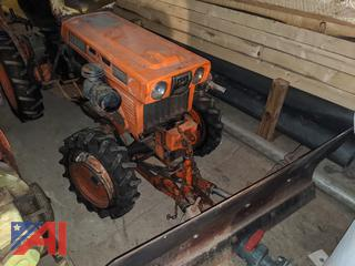 "Kubota Tractor with 50"" Snow Plow"