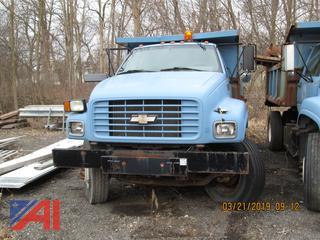 2002 Chevy M070 Dump Truck