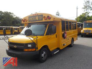 2012 Chevy/Thomas Express G3500 Mini School Bus