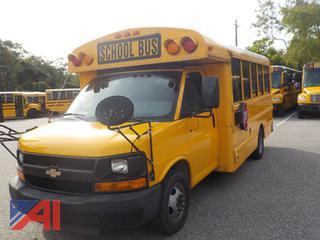 2012 Chevy/Thomas Express G3500 Mini School Bus