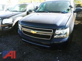 2014 Chevy Tahoe SUV/Police Vehicle