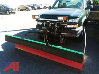 2006 Chevy Silverado 2500HD Pickup Truck with Plow