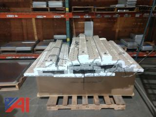 Fluorescent Light Fixtures with Chains