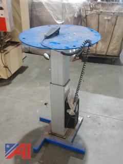Automatic Turntable for Sign Manufacturing