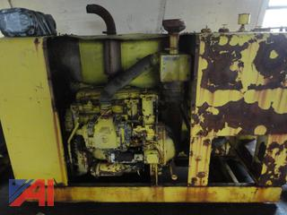 Detroit 471 Diesel Engine with Hydraulic Pump