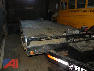 2009 Bri-Mar 20' Tilt Deck Over Trailer