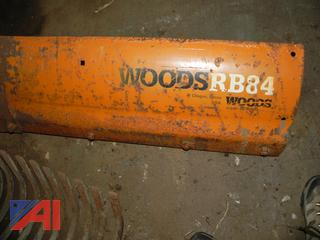 (#13) Woods RB84 6' Heavy Back Blade for Tractor