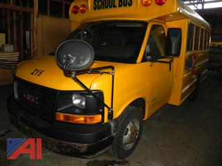 (#16) 2007 GMC Savana Mini School Bus