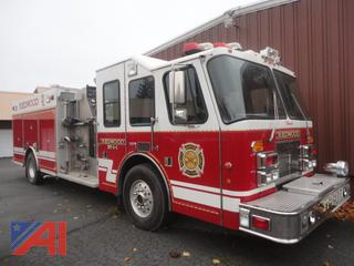 1997 Simon-Duplex/Saulsbury Fire Emergency Pumper Truck