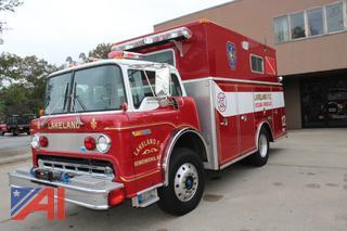 1987 Ford/Hahn/Chivvis C800 Rescue/Scuba Truck