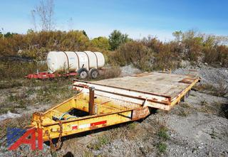 1995 CO/PR 20' Equipment Trailer with Twin Folding Ramps