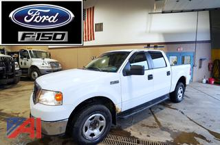2007 Ford F150 XLT Crew Cab Pickup Truck with Powerlift Tailgate